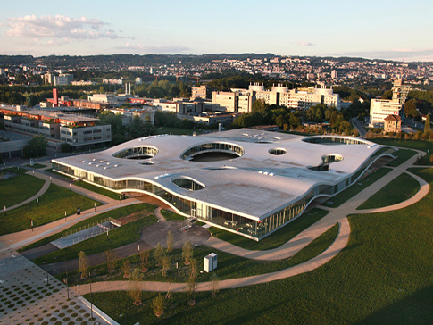 Rolex Learning Centre in Lausanne